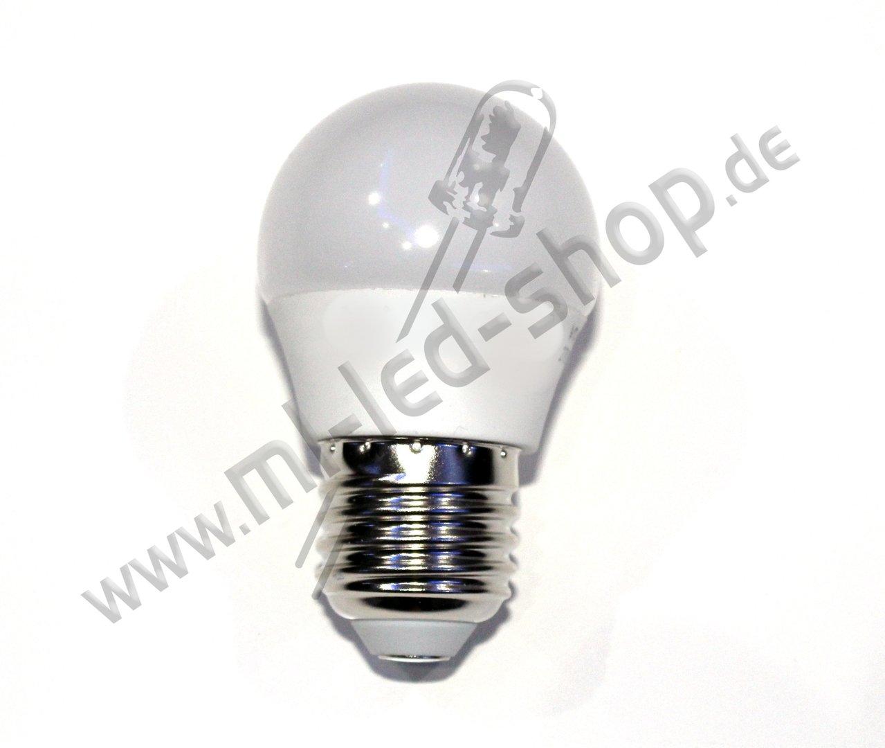 6 watt e27 led leuchtmittel 2700k warm wei g45. Black Bedroom Furniture Sets. Home Design Ideas