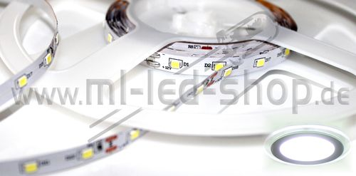 500cm SMD Strip Kalt-Weiß 6000K SMD3528 IP20
