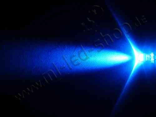 LED 5mm Blau 50Stk. 5.000mcd