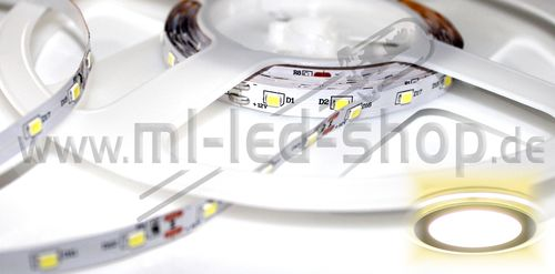 500cm SMD Strip Warm-Weiß 3000K SMD3528 IP20