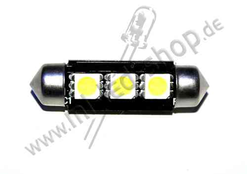 SMD Soffite 39mm 3SMD5050 Weiss