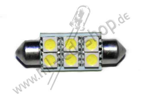 SMD Soffite 39mm 6SMD5050 Weiss