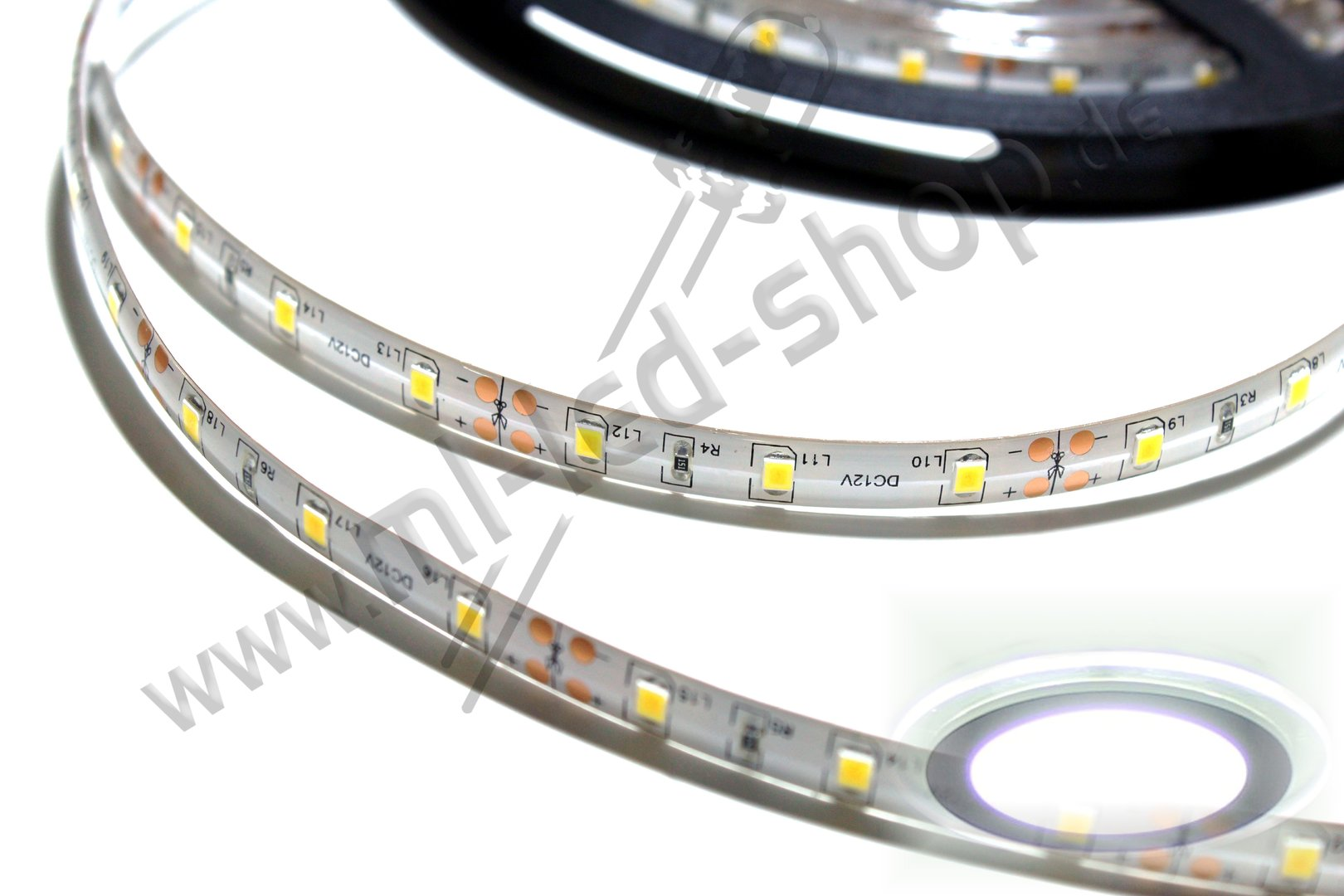 500cm SMD Strip Kalt-Weiß 6000K SMD3528 IP65