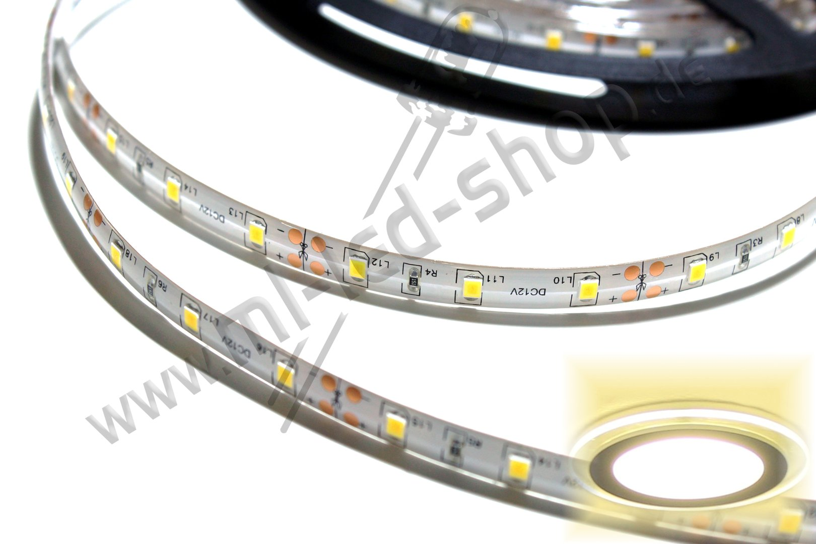 500cm SMD Strip Warm-Weiß 3000K SMD3528 IP65