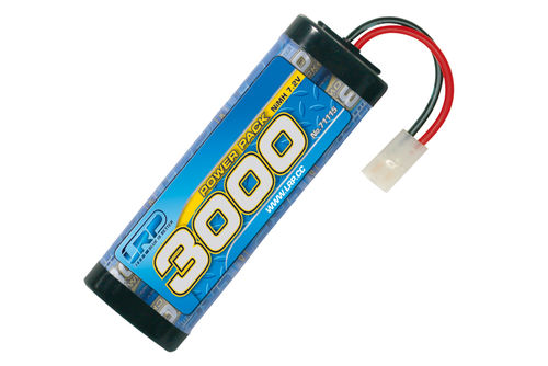 Power Pack 3000 - 7.2V - 6-Zellen - Tamiya/JST Stecker - NiMH Stickpack