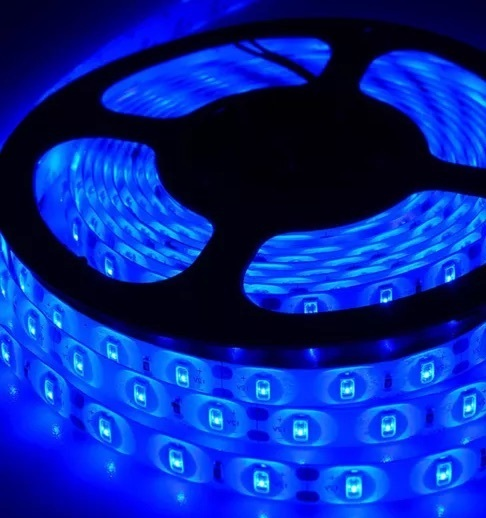 500cm SMD Strip Blau SMD5630 IP20